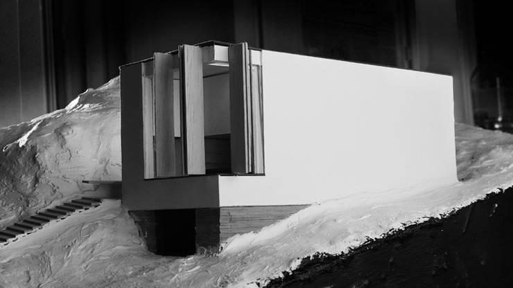 Maquette d'étude: Maisons de style  par Wen Qian ZHU Architecture