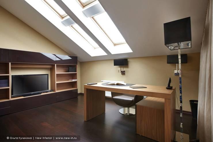 Estudios y oficinas de estilo  por Ольга Кулекина - New Interior