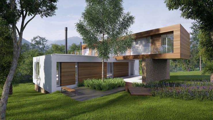 Imagem Externa: Casas  por Ideia1 Arquitetura
