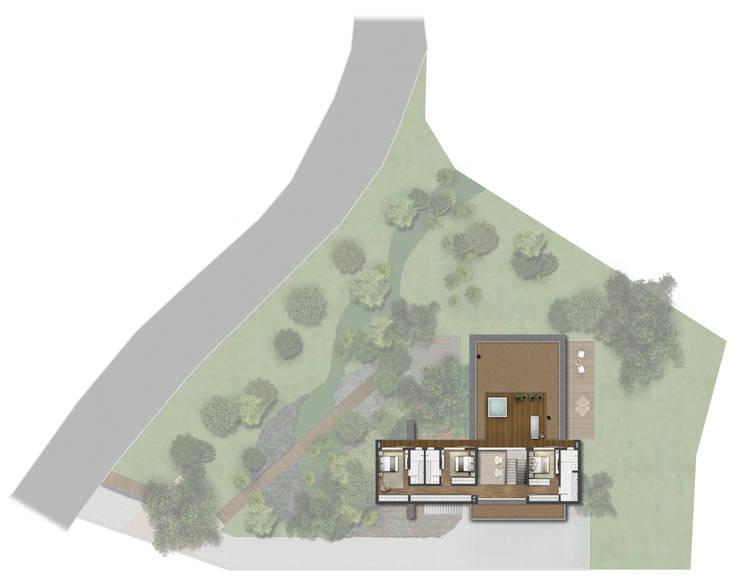 Planta Baixa 2º Pavimento: Casas  por Ideia1 Arquitetura