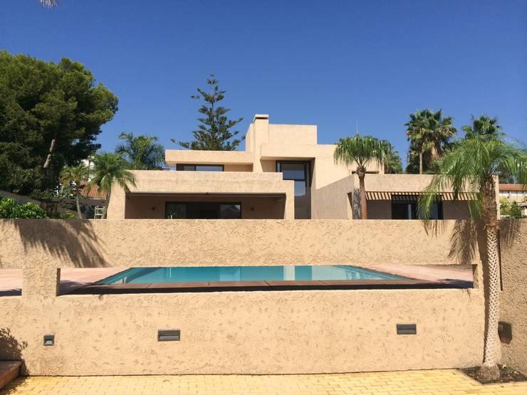 Benyamina 5: Casas de estilo  de saz arquitectos