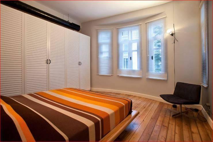 DICLE HOKENEK ARCHITECTURE – SO EVI:  tarz Yatak Odası
