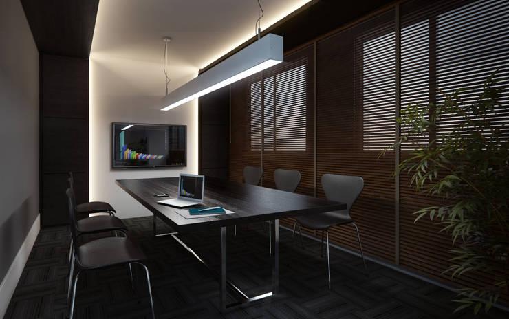 Work Station: Escritórios  por Ideia1 Arquitetura