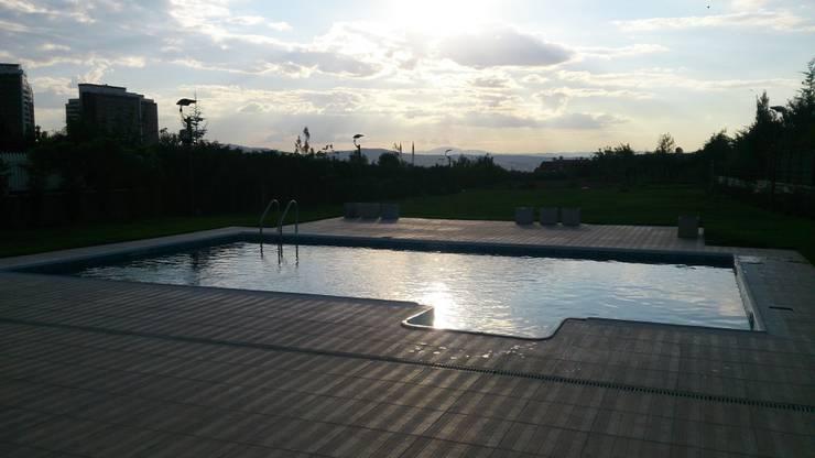 Sıdar Pool&Dome Yüzme Havuzları ve Şişme Kapamalar – Z&G Bulut:  tarz Havuz