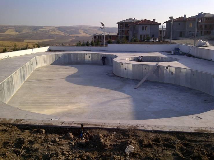 Sıdar Pool&Dome Yüzme Havuzları ve Şişme Kapamalar – Havuz çevre düzenlemesi:  tarz
