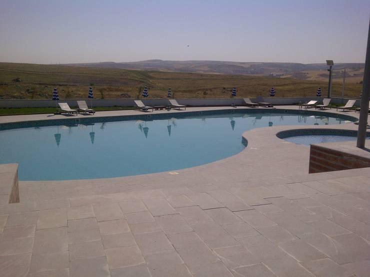 Sıdar Pool&Dome Yüzme Havuzları ve Şişme Kapamalar – Tamamlanmış havuz:  tarz