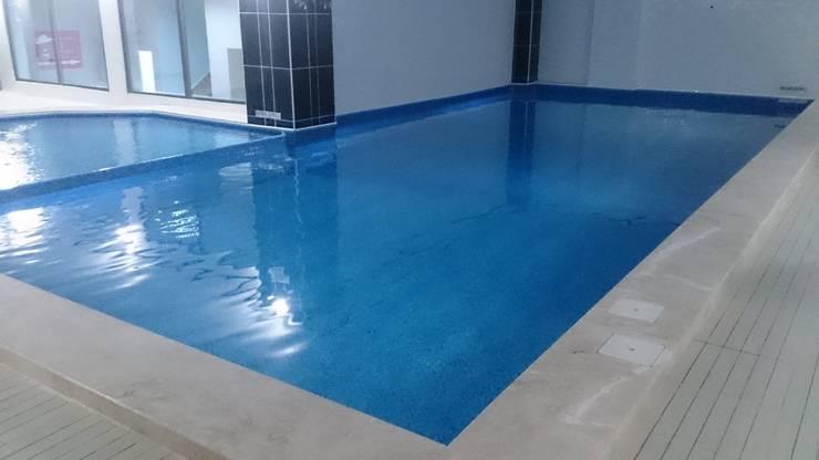 Sıdar Pool&Dome Yüzme Havuzları ve Şişme Kapamalar – Wind Life Club:  tarz Havuz,