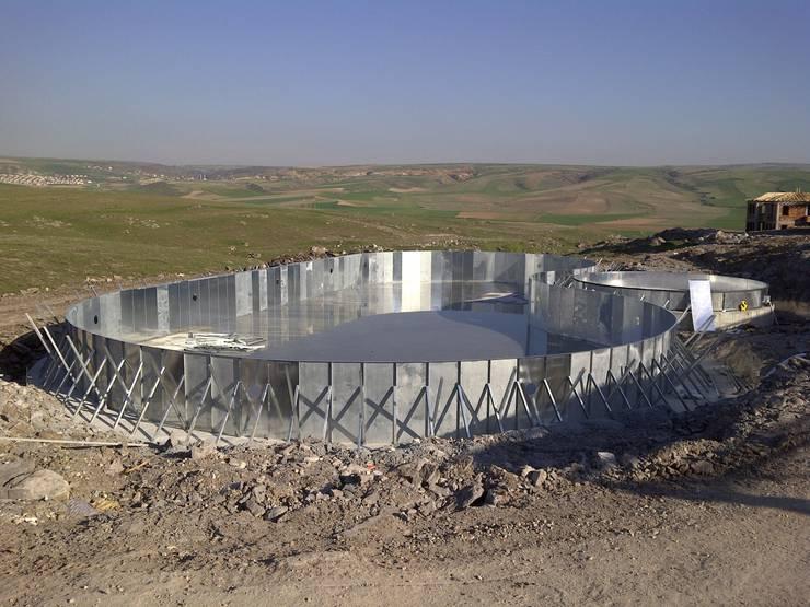 Sıdar Pool&Dome Yüzme Havuzları ve Şişme Kapamalar – Çelik konstrüksiyon gövde:  tarz