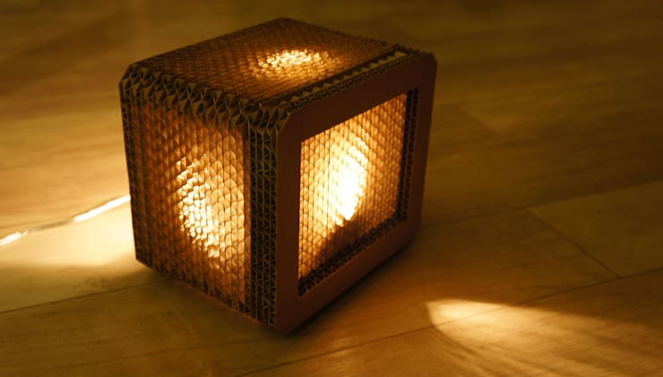 light cube  (175x145x125mm): YUBILEE의  침실