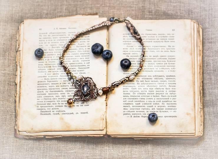 """Ожерелье """"Осень"""". : Произведения искусства в . Автор – Душа старых вещей"""