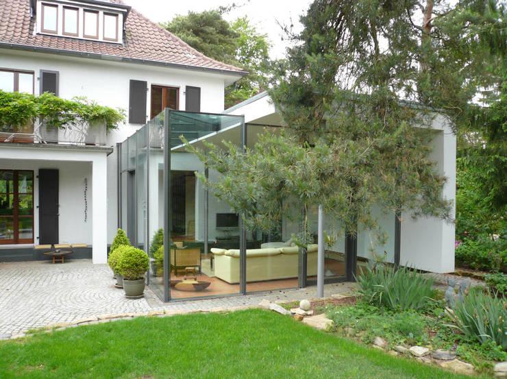 Haus N:  Wintergarten von Claus + Pretzsch Architekten BDA
