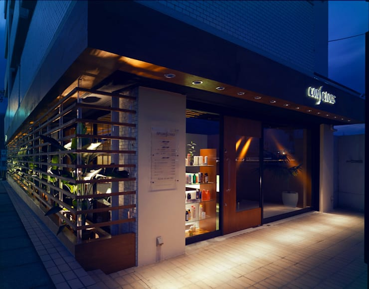 Entrance-1: Shigeo Nakamura Design Officeが手掛けたオフィススペース&店です。,