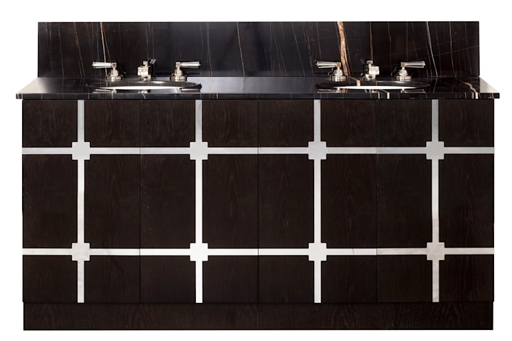 Evan Vanity: modern Bathroom by Justin Van Breda