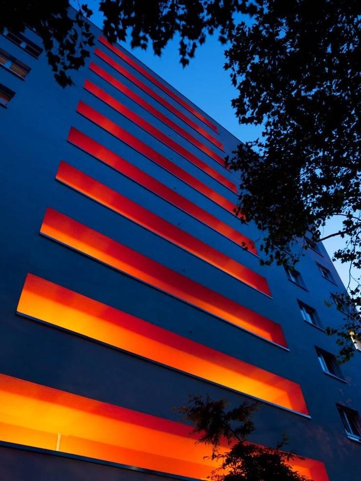 Grundstraße:  Terrasse von Claus + Pretzsch Architekten BDA,