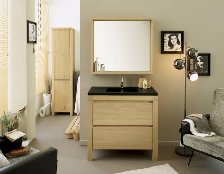 Salle de bain ERWAN: Salle de bain de style  par PARISOT