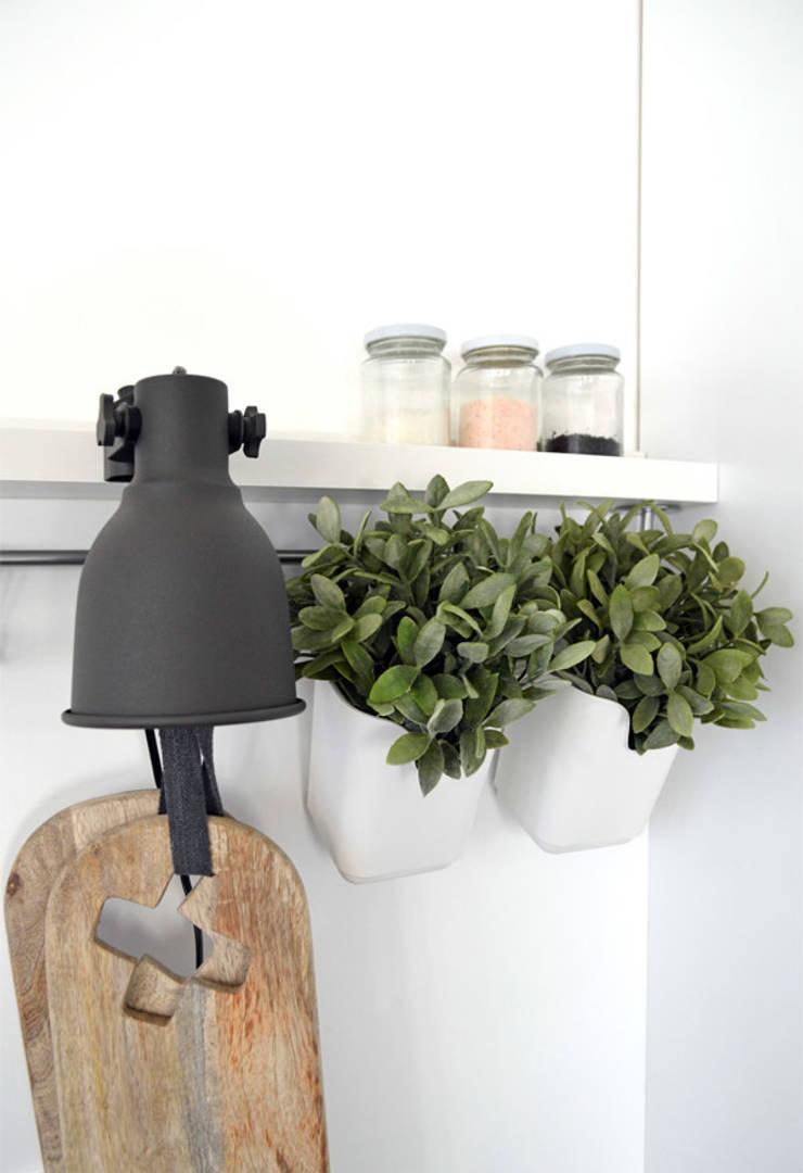 Industrial style kitchen by Kristina Steinmetz Design Industrial