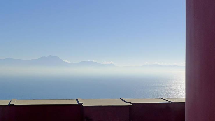 Casa V: Giardino in stile  di Sergio Prozzillo Ass.ti, Mediterraneo
