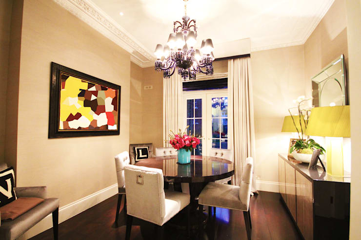 London Townhouse :  Dining room by Perfect Integration