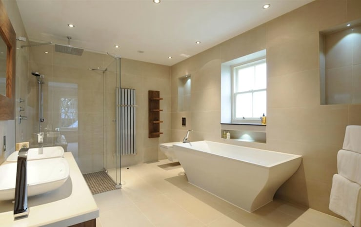Beaconsfield Mansion:  Bathroom by Perfect Integration