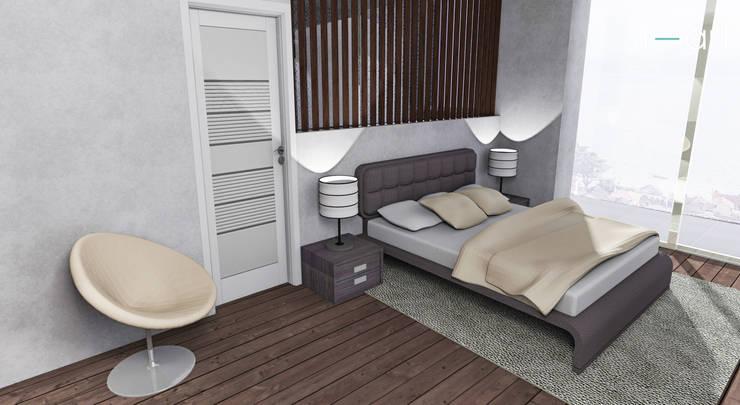 Casa com vista privilegiada – Casa LL: Casas  por start.arch architettura