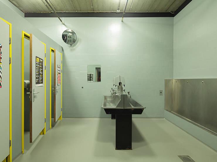 Toilets Paard van Troje Den Haag:  Gastronomie door Studio Barbara Vos