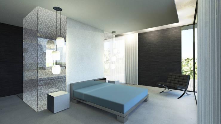 Villa v:  de style  par ARRIVETZ & BELLE