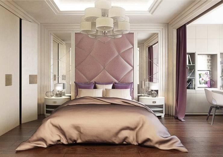 Спальня в стиле Ар деко: Спальни в . Автор – Павел Белый и дизайнеры, Классический