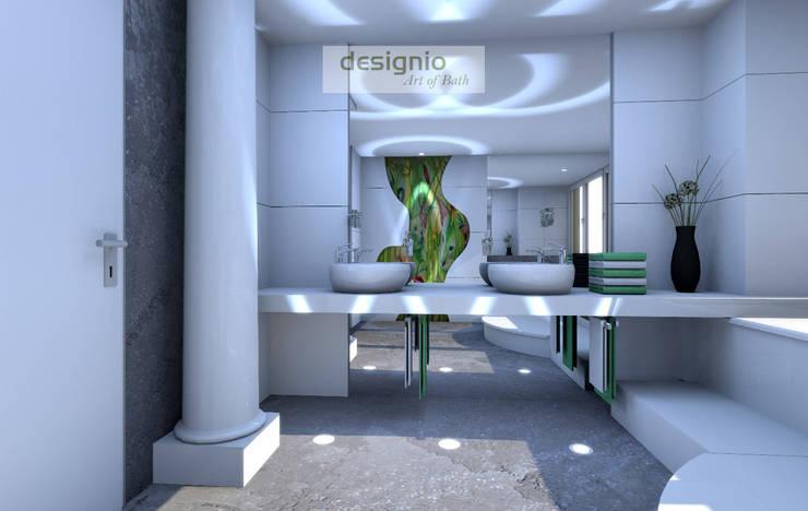 Banheiros modernos por Art of Bath