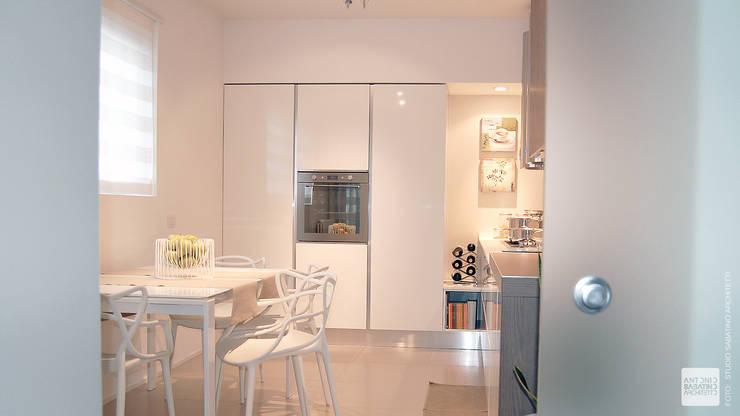 Interior Design Abitazione RL a Pescara: Cucina in stile  di Studio Sabatino Architetto