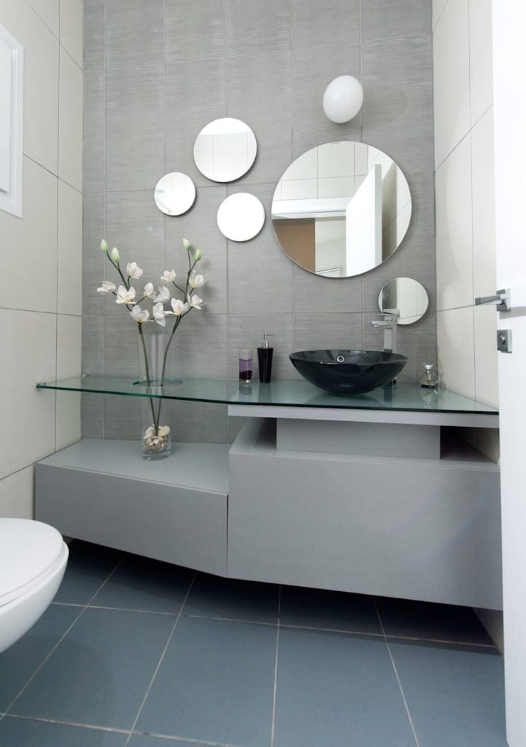 Smart Plus Mobilya – Lavabo dolapları: modern tarz Banyo