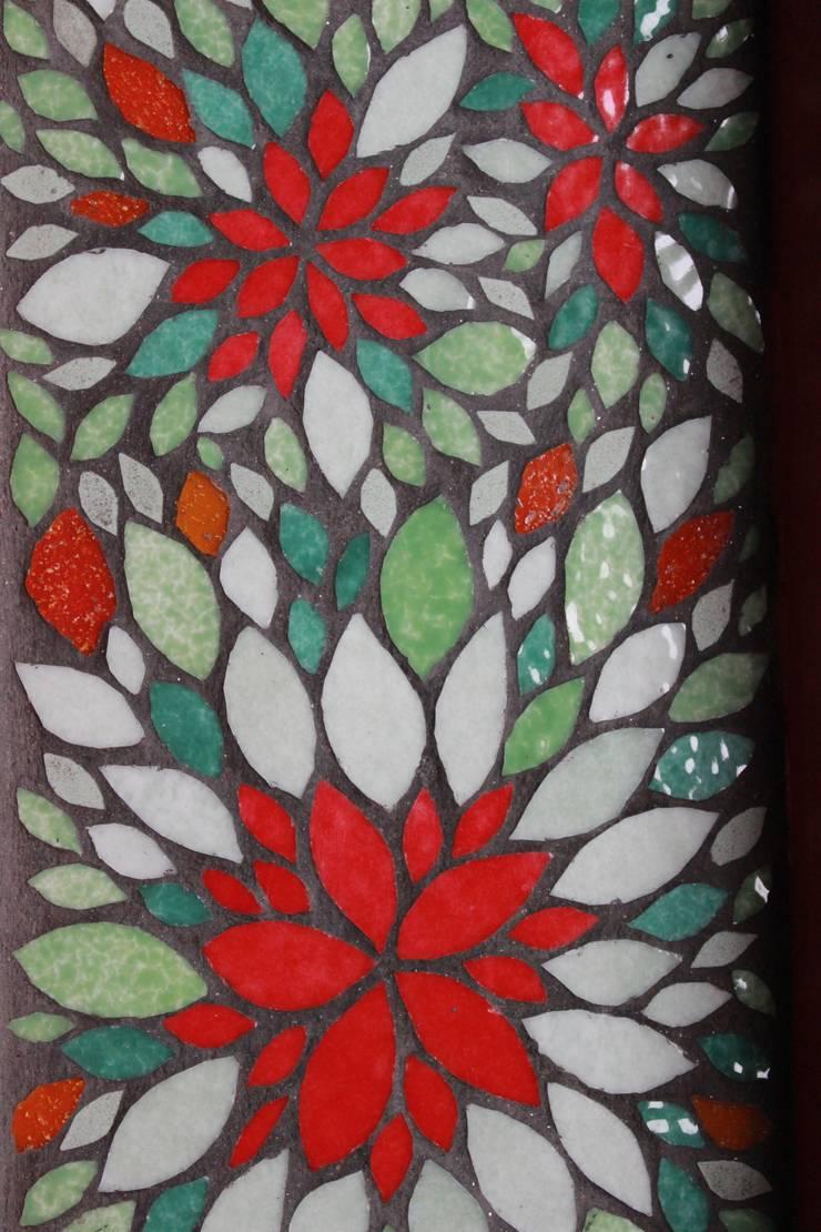 Petit plateau duo - vide poches mosaïque:  de style  par Mosa-Louisa