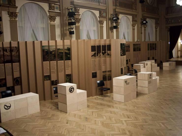 Czech nature exhibition:  Exhibition centres by studio deFORM