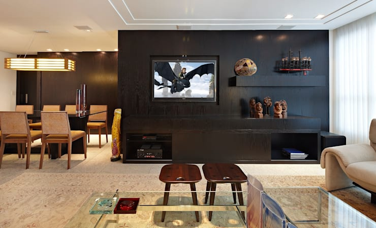 modern Living room by Jaqueline Frauches Arquitetura e Interiores