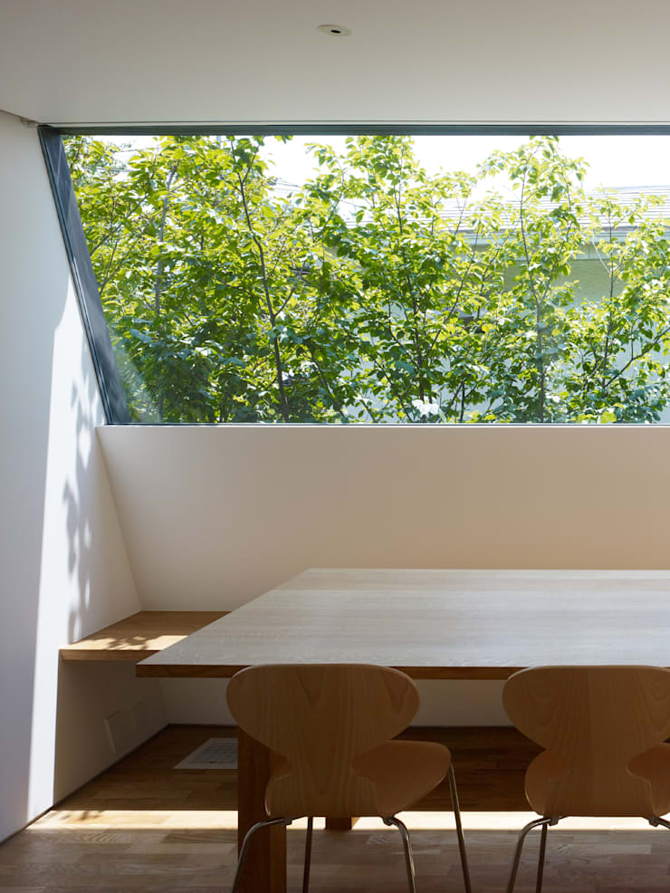梅ヶ丘の家: 栗原隆建築設計事務所が手掛けたリビングです。