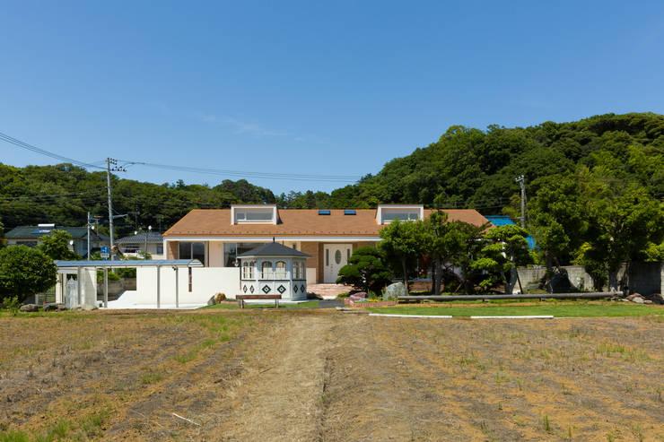 外観: 菅原浩太建築設計事務所が手掛けた家です。