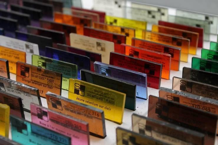 Echantillons de verre:  de style  par VERRERIE DE SAINT-JUST