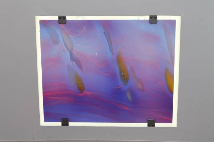 Feuille de verre: Art de style  par VERRERIE DE SAINT-JUST