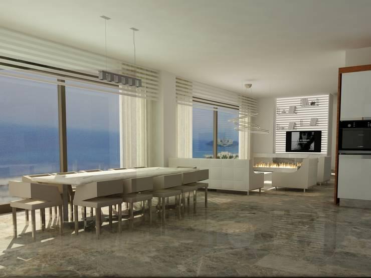 Archidecors – Yemek Odası:  tarz Yemek Odası, Modern