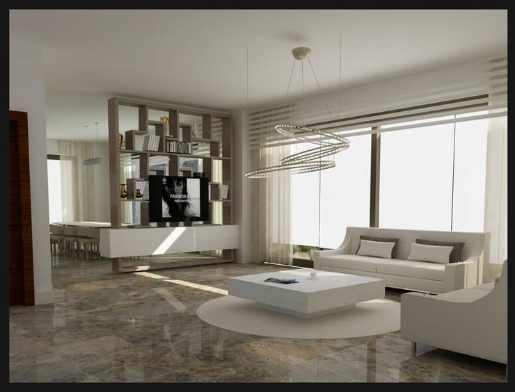Archidecors – Oturma Odası:  tarz Oturma Odası, Modern