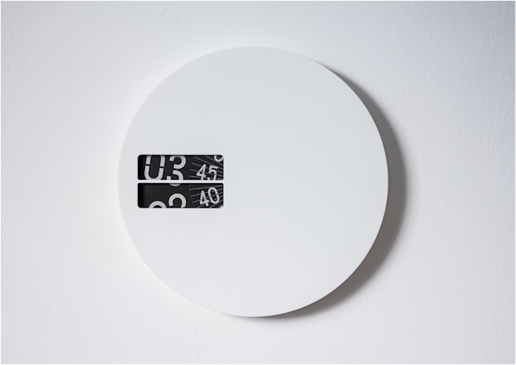 Wall Clock:  Living room by studio deFORM