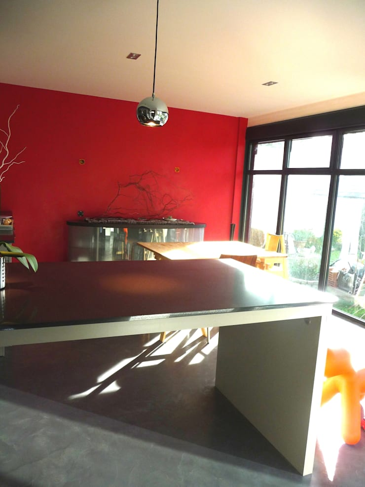 Dining room by ALEXANDRA BETANCOURT ARCHITECTE, Modern