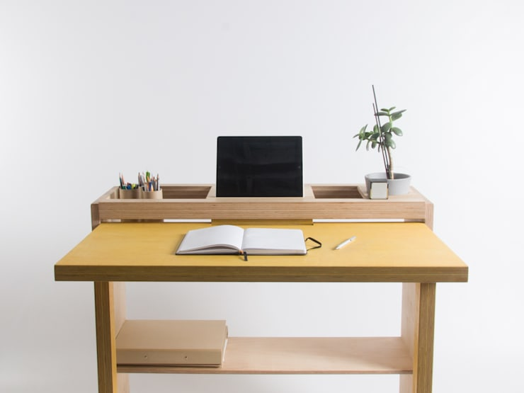 minimalistic Study/office by Bee9