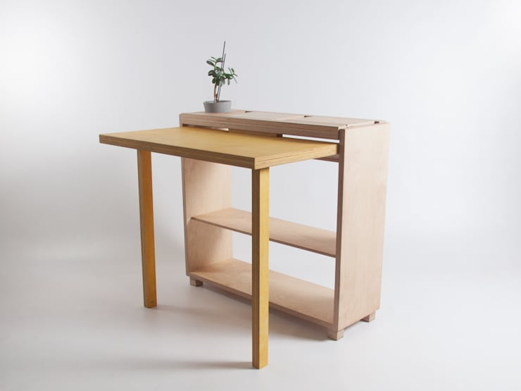 Drop-Leaf Tablet Desk:  Study/office by Bee9