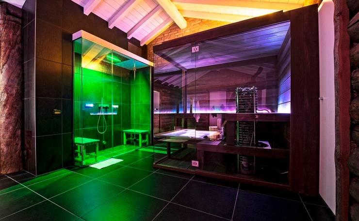 Abitazione Privata: Spa in stile  di Studio Tecnico Magenis Professionisti Associati