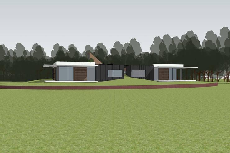 Modern woonhuis van Frank Loor Architect