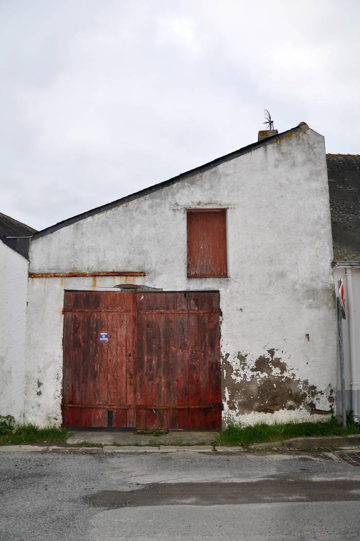 Du Sel - Réhabilitation d'un ancien garage à sel: Maisons de style  par Vincent Souquet Architectures
