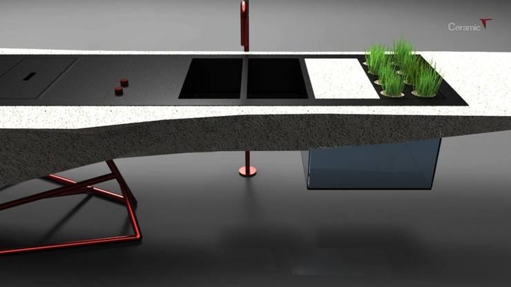 Eco-system:  in stile  di TheSignStudio, Minimalista