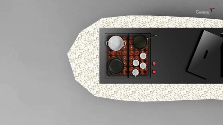 Top Kitchen:  in stile  di TheSignStudio, Minimalista