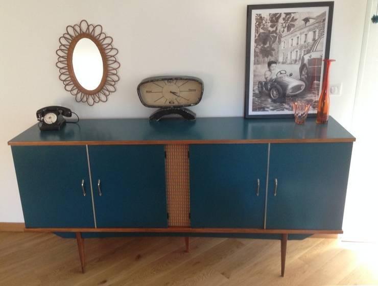 Buffet, enfilade vintage Agathe: Salon de style de style Scandinave par Lilibroc