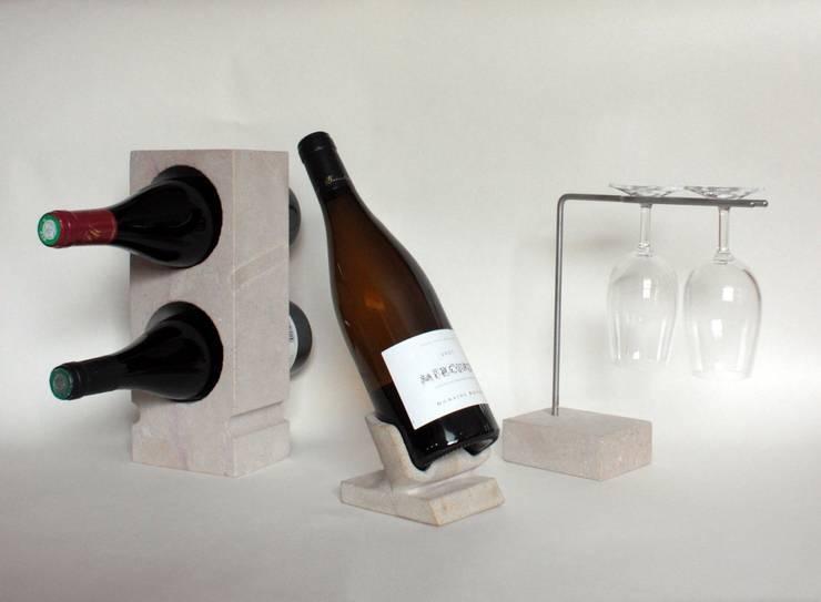 Projekty,  Piwnica win zaprojektowane przez Marie Deley